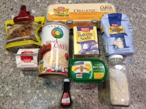 oatmeal cake ingredients