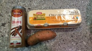 sweet potato ingredients